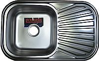 Кухонная мойка Platinum 7848 Decor 0,8мм декор