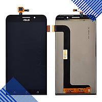 Дисплей Asus ZenFone Max (ZC550KL) с тачскрином в сборе, цвет черный,