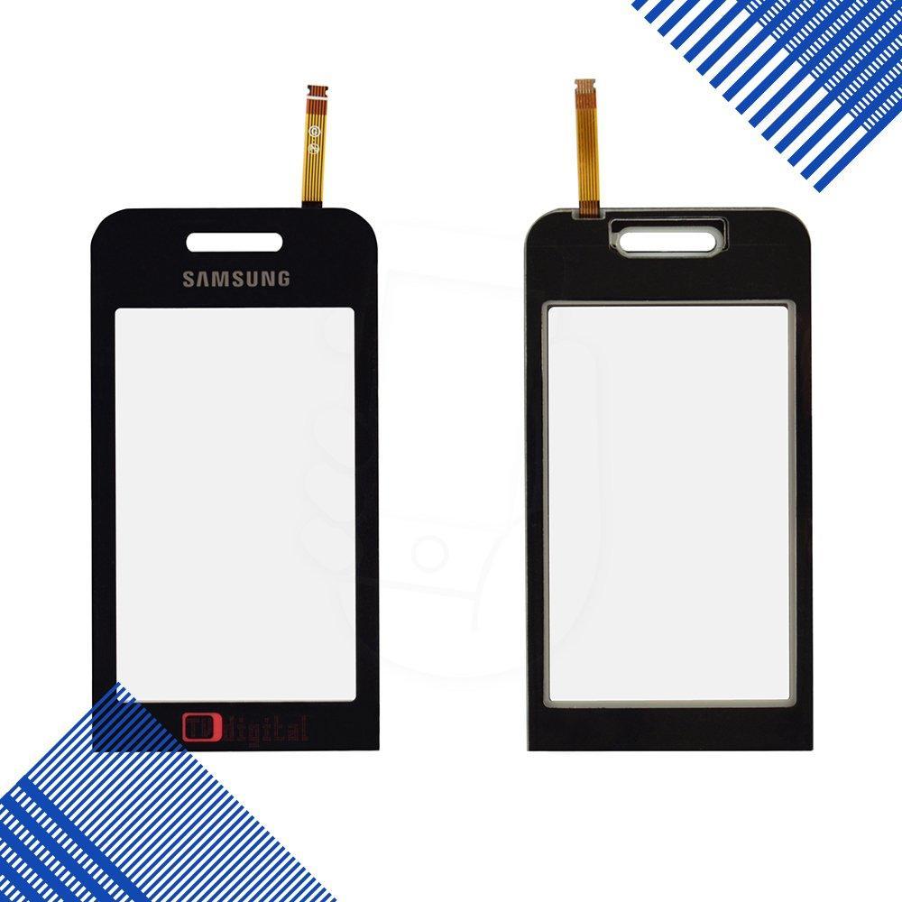 Тачскрин (сенсор) Samsung S5233 TV, цвет черный