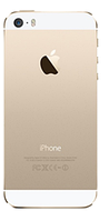 Крышка задняя iPhone 5S Original 100% Gold