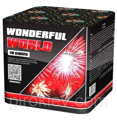 Фейерверк GWM5034 Wonderful World (Splendid River)
