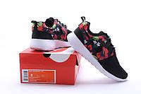 Женские кроссовки Nike Roshe Run Print black, фото 1