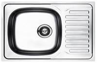 Кухонная мойка Platinum 7050 Satin 0,8мм