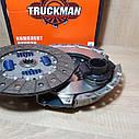 Сцепление Газель,Волга дв.406 (диск нажимной+ведущий+подшипник) (пр-во Truckman) аналог LUK, фото 3