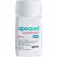 Апоквел Apoquel таблетки от зуда для собак 5,4 мг, 20 таблеток