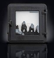 Печные дверцы DELTA Neo 265х265 Дверца чугунная для печи и камина