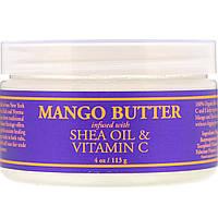 Nubian Heritage, Масло манго, обогащенное маслом ши и витамином C, 4 унц. (113 г)