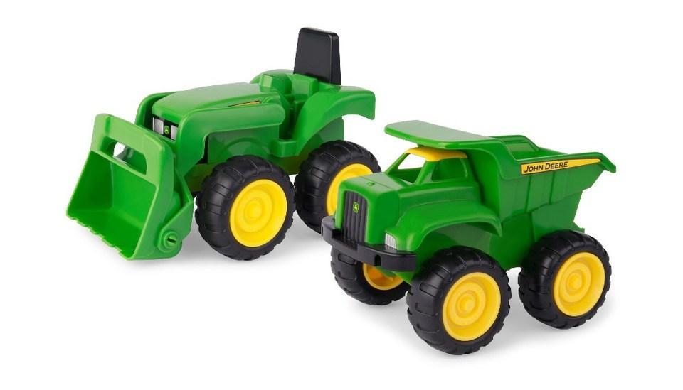 John Deere: Мини трактор с ковшом и экскаватор 42952V TOMY