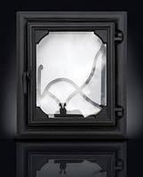 Печные дверцы DELTA Lira 360х420 Дверца чугунная для печи и камина