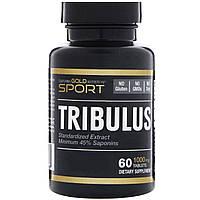 California Gold Nutrition, Спорт, якорцы, 1000 мг, 60 таблеток
