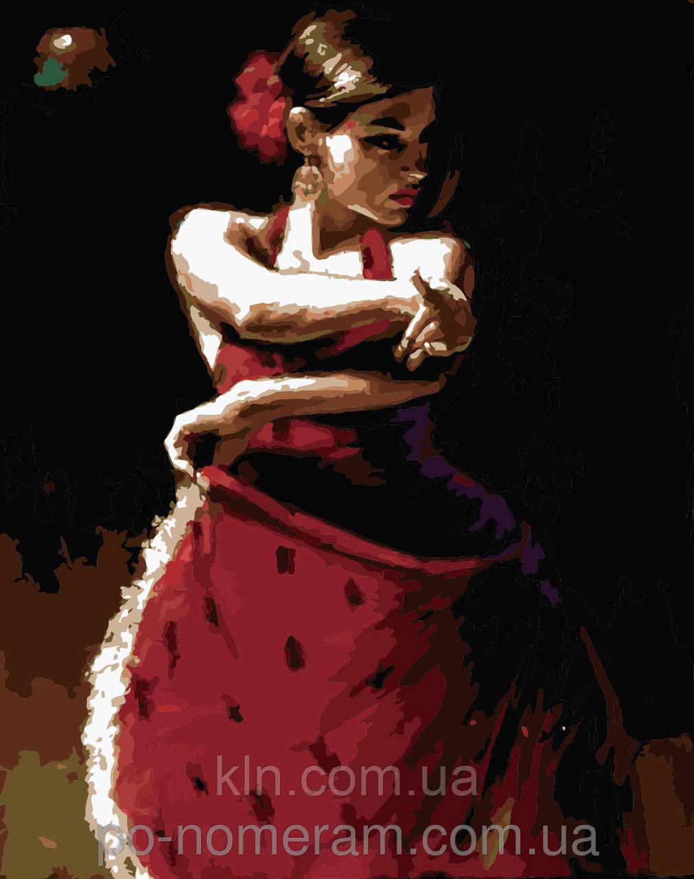 Картина по номерам Menglei Танец жизни MG1006 40 х 50 см