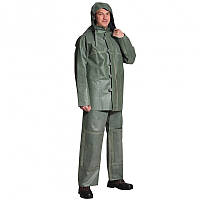 Костюм шахтерский, типа ЛГН (куртка с капюшоном и брюки) прорезиненный ( резиновый )