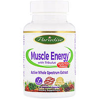 Paradise Herbs, Muscle Energy with Tribulus, 60 Vegetarian Capsules