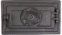 Печные дверцы DELTA Barokk 340х200 Дверца чугунная для печи и камина