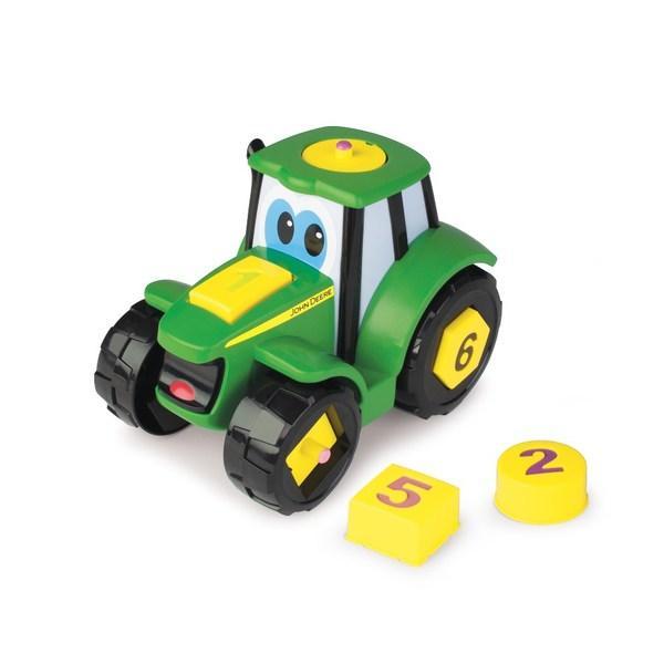 John Deere: Сортер Трактор Джонни 46654 TOMY