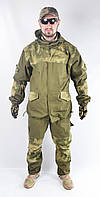 Военный костюм Горка оригинал, с зелеными вставками из A-TACSа