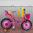 Детский велосипед Azimut Girls 18 дюймов розовый, фото 3