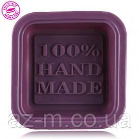 """Силиконовая форма """"100% Hand-Made"""""""