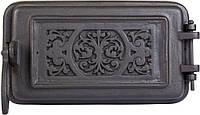 Печные дверцы DELTA Fiona 225х135 Дверца чугунная для печи и камина, фото 1