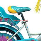 Детский велосипед Azimut Girls 18 дюймов бирюзовый, фото 4