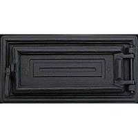 Печные дверцы DELTA Lira 335x180 Дверца чугунная для печи и камина