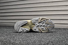 Кроссовки мужские Adidas Yung Triple Gray топ реплика, фото 3
