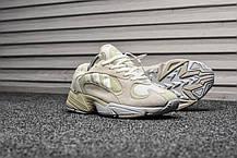 Кроссовки мужские Adidas Yung Triple Gray топ реплика, фото 2