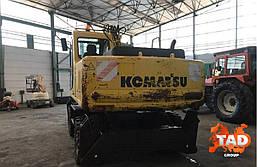 Колісний екскаватор Komatsu PW170ES-6K (2003 р), фото 3