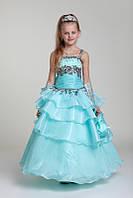 Бальное платье 407 для девочки прокат Киев