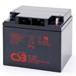 Аккумулятор AGM CSB GP12400, 12V 40AH