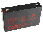 Аккумулятор AGM CSB HRL634WF2, 6V 9Ah