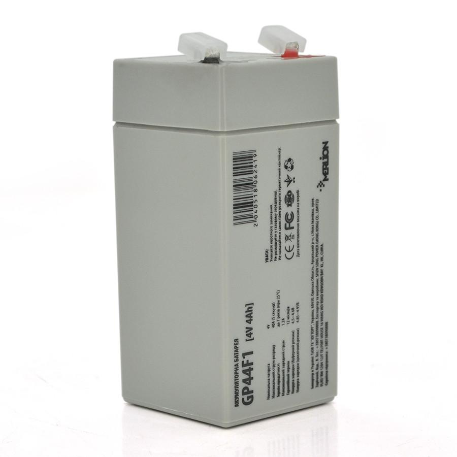 Аккумулятор AGM MERLION GP44M1 4 V 4AH