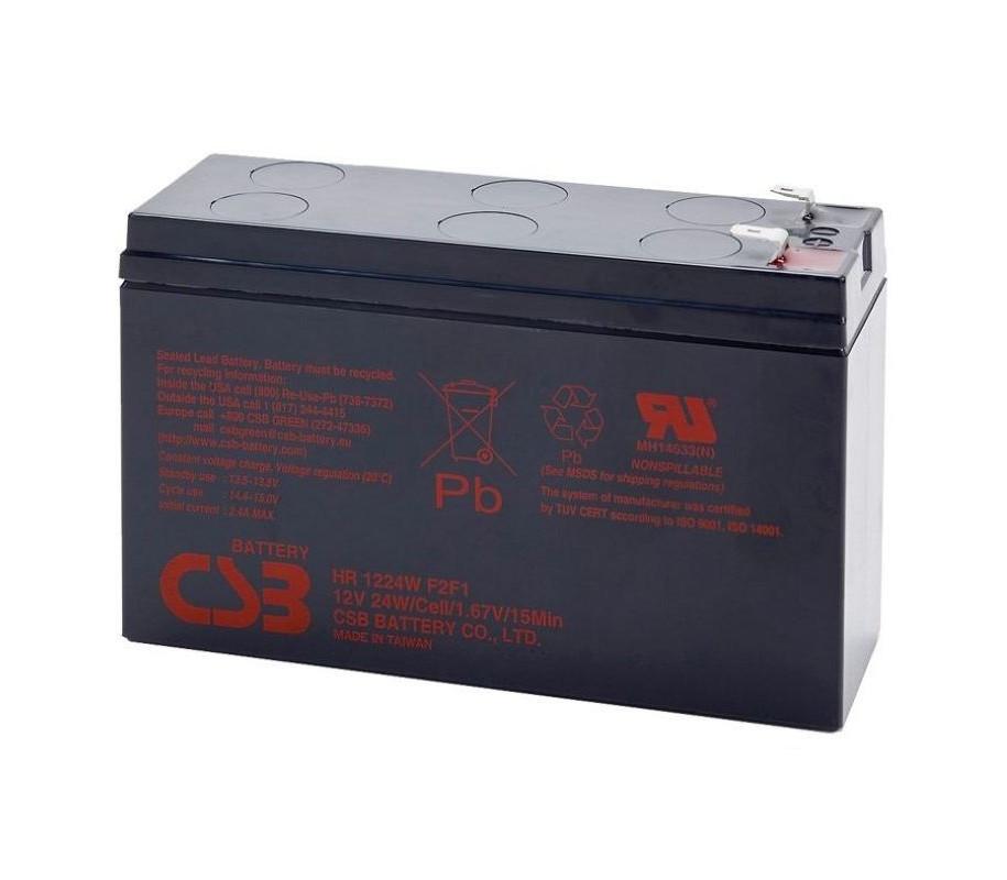 Аккумулятор AGM CSB HR1224WF2 12V 6,5AH