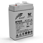 Аккумулятор AGM RITAR RT655 6V 5,5AH, Gray Case