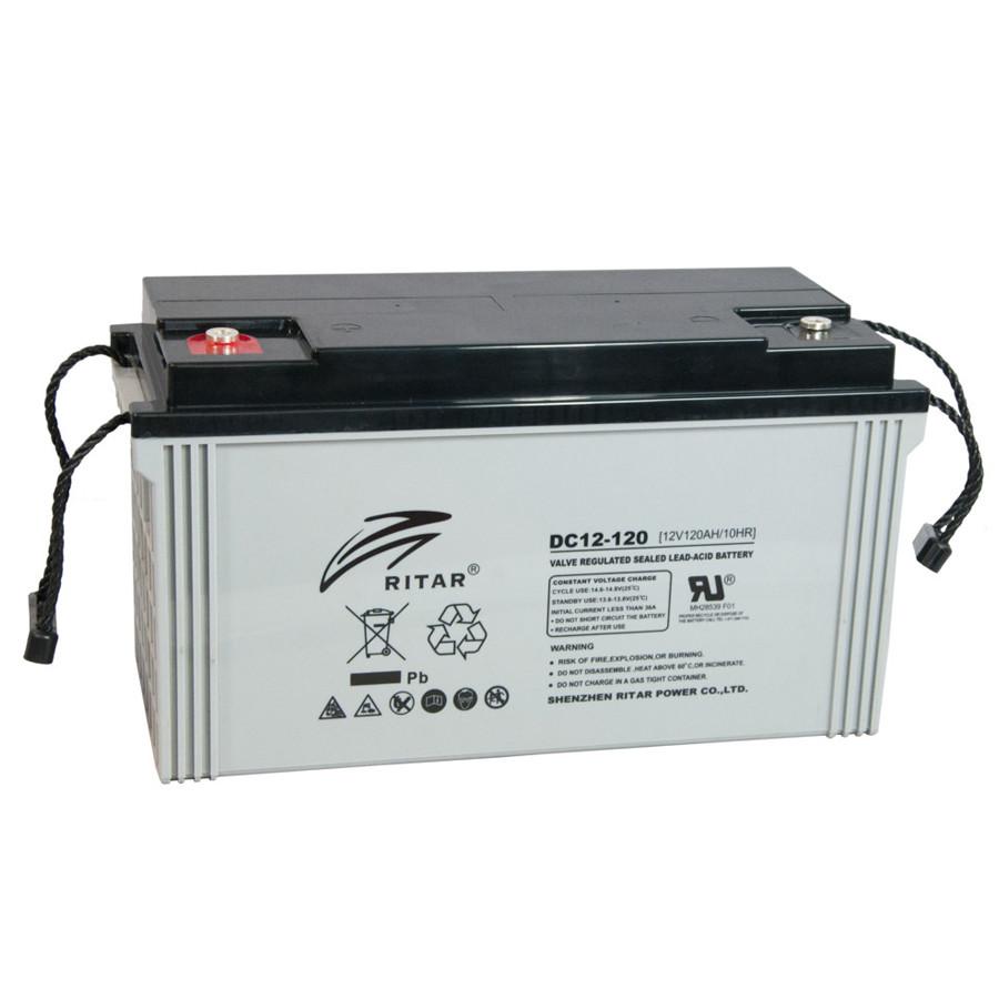 Аккумулятор AGM RITAR DC12-120, 12V 120AH