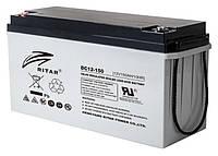 Аккумулятор AGM RITAR DC12-150, Gray Case, 12V 150Ah (495*185*280) 45 кг 480 (450)*167*240