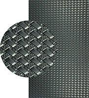 """Резина подметочная-рант """"КОСИЧКА"""", р. 500*630*2.5 мм, цв. чёрный"""