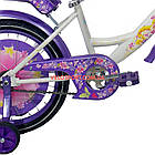 Детский велосипед Azimut Girls 18 дюймов фиолетовый, фото 7
