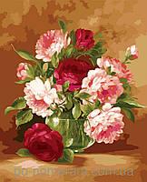 Картина по номерам Menglei Праздничный букет MG1008 (KH1008) 40 х 50 см 950 цветы