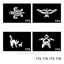 Трафареты для татуажа