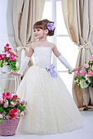 Нарядное платье для девочки 7702