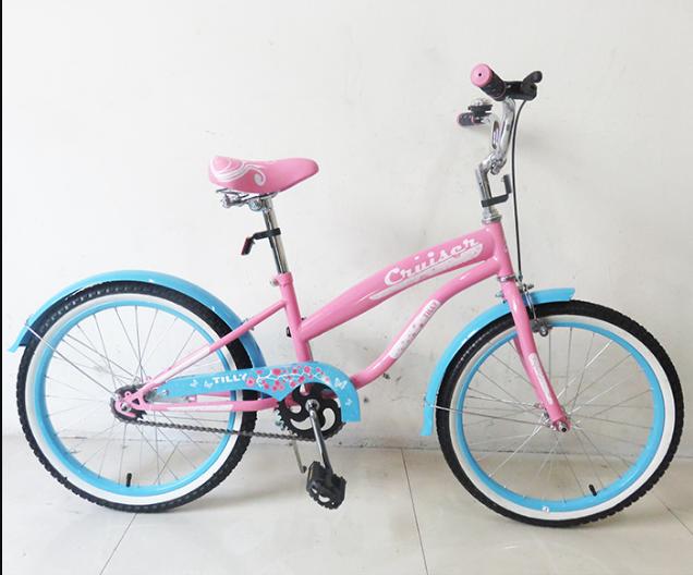 Велосипед двухколёсный детский 20 дюймов TILLY CRUISER  T-22032 Pink+Blue ***