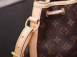 Женская сумка от Луи Витон модель Noe BB кожаная, Monogram, кожаная, фото 7
