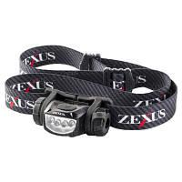 Фонарь налобный Zexus Zx-240 Bk 50Lm Ipx4 Ц:Black (Zx-240 Bk)