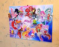 Подставка для выставки игрушек Киндер. Феи