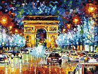 Картина по номерам Menglei Мгновения Парижа MG1018 40 х 50 см , фото 1