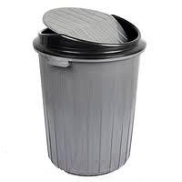 Бак для мусора 50л. с плавающей крышкой