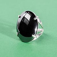 Гематит (кровавик), 25*18 мм., серебро 925, кольцо, 979КГ, фото 1