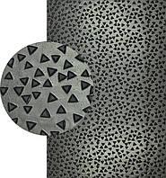Резина подметочная каучуковая ШИП (Китай), р. 600*600*2.5 мм, цв. чёрный