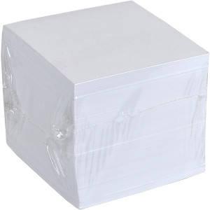 Блок 900 листов 90×90 мм белый офсет «Коленкор», фото 2
